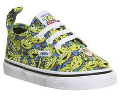 0c1843d7d9 Vans Authentic Velcro Lace Toddlers Aliens Toy Story