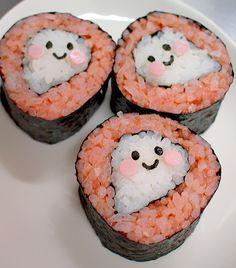 Halloween Ghost Sushi