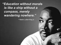 Let us celebrate his great ideals that continue to gui. Let us celebrate his great ideals that continue to guide successive generations. SHARE your favorite Martin Luther King, Jr. quote below. Importance Of Education Quotes, Education Quotes For Teachers, Quotes For Students, Primary Education, Teacher Quotes, Martin Luther King Quotes, Character Quotes, Historical Quotes, King Jr