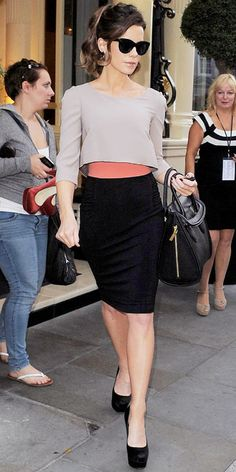 Look of the Day - August 16, 2012 - Kate Beckinsale in Paule Ka from #InStyle