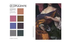 Peclers Paris: Cahier de tendance COLORS TREND BOOK FALL WINTER 17-18