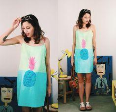 Glena M.- Farm Rio Dress, Zero Uv Sunnies, Clube Melissa Itu Melissa Flox Iii