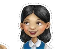 Girl Guide Paper Dolls from Around the World