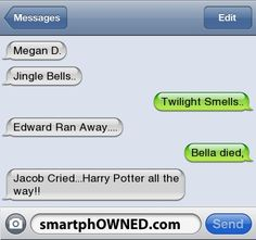 Twilight Fans Will Love This - - Autocorrect Fails and Funny Text Messages - SmartphOWNED