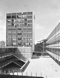 Universidad La Salle 1962  México, D.F.  Arq.Ismael Rego, Arq.Victor Aguado
