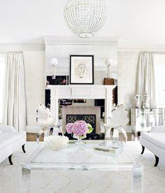 Eu!!! Eu também gostava mas e enquanto sonhava, tive de fazer uma pesquisa de ideias para a lareira de um cliente, com uma casa contempo...