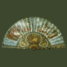 Trompe-L'Oeil Lace Fan Previously Owned By Queen Charlotte And Presented To Queen Mary, 1939 - The Royal Collection