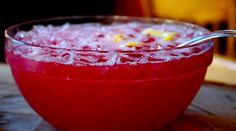 Entertain with a bloody punch that is sure to spook your guests!