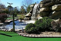 Champions Miniature Golf in Hendersonville NC has an 18 hole course! It's great fun for kids & still has challenges for adults. The landscaping includes a beautiful waterfall that is one of the nicest you'll find on a golf course.  For additional fun there are baseball & softball batting cages, driving range & putting green.    Open 7 Days: 8 AM to Sunset. championsgolflearningctr.com/#!miniature-golf/c1moe  485 Brookside Camp Road, Hendersonville, NC (828) 698-1234…