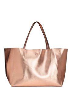 Sac shopping - Rose doré - FEMME | H&M FR