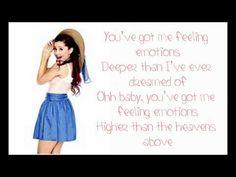 Ariana Grande - Emotions (Mariah Carey Cover) Lyrics