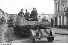 Marder-1: With its supply trailer. By July 1942 Major Alfred Becker and his team, together with Alkett, completed the 170 conversions. By  early 1944, most Marder-I's had been either destroyed, and those surviving were gradually replaced by the Marder-II, Marder-lll and the StuG-III.