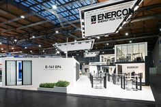 Enercon stand by Ache | Stallmeier at Hannover Messe 2016 Hannover  Germany