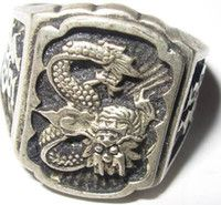 Silver Dragon Rings Reviews   Dragon Rings For Men Silver Buying Guides on DHgate.com