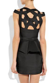 great back - Rachel Gilbert, Kamilla cutout silk-taffeta dress Estilo Fashion, Look Fashion, Fashion Beauty, Womens Fashion, Fashion Shoes, Vestidos Sexy, Dress Vestidos, Dresses, Looks Style