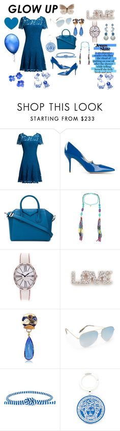 """""""Jenny style👌👌👌"""" by jamuna-kaalla ❤ liked on Polyvore featuring Diane Von Furstenberg, Paul Andrew, Givenchy, Katerina Psoma, Eberhard & Co., Kismet by Milka, Sonia Boyajian, Victoria Beckham, Ports 1961 and Versace"""