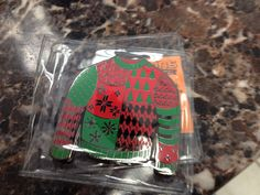 Ugly sweater geocoin Ugly Sweater, Sweaters, Being Ugly, Christmas Gifts, Enamel, Accessories, Xmas Gifts, Christmas Presents, Vitreous Enamel