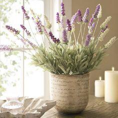 artificial plant - lavendar
