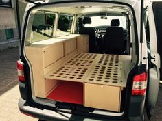 Csmper muebles - Camper - Csmper muebles Best Picture For van life aesthetic For Your Taste You are looking for something, - Bus Camper, Camper Beds, Mini Camper, Camper Life, Minivan Camping, Truck Camping, Auto Camping, Camping Tool, Camping Hacks