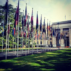 Where it all happens- UN, Geneva