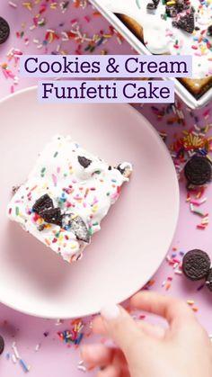 Fun Baking Recipes, Sweet Recipes, Snack Recipes, Dessert Recipes, Cooking Recipes, Tastemade Recipes, Donuts, Yummy Treats, Yummy Food