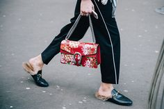 Неделя моды в Париже, осень-зима 2016: street style. Часть 3 (фото 9)