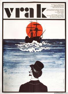 50% Movie Posters Sale £84.00 - £42.00 /  Apolonia's Secret, Jan Tománek, 1984. Made in Czechoslovakia.