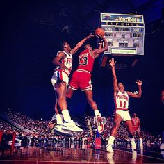 Jordan vs. Pistons