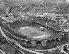 Wembley Stadium, FA cup final day, 1935. #London