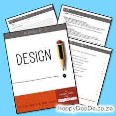 In this course you will learn about various design disciplines. From graphic design to architecture. It will challenge you to think outside of the box and give you an idea of which design discipline suite you best, as well as if design is a feasible career option for you. Career Options, Home Schooling, Hdd, Homeschool, Students, Challenges, English, Note
