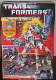 Transformers Generation 1 Headmasters Fortress Maximus Action Figures