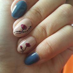 #flowers nail-art