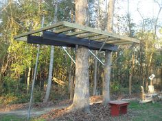 Sky Barn - Glover Design Treehouse Entry   by Simplified Building Concepts