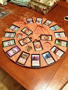 Dominion Playing Card Carousel - by ChuckH @ LumberJocks.com ~ woodworking community