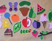 Felt Story Set: The Very Hungry Caterpillar