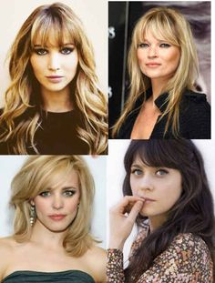 Discover the Best Haircut For Your Face Shape - Verily Hair Cuts Oval Face, Haircuts For Round Face Shape, Bangs For Round Face, Long Hair Cuts, Oblong Face Hairstyles, Thin Hair Haircuts, Cool Haircuts, Hairstyles With Bangs, Modern Haircuts