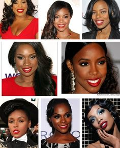Brown Skin, Red Lips