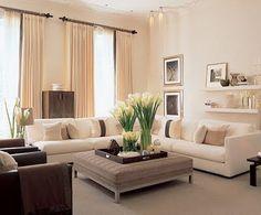 lounge, change curtain pole, matt black, voile curtain also