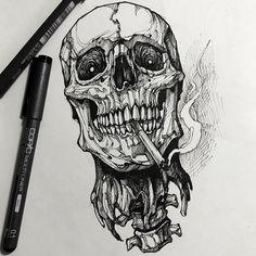 Tattoo sketches 773141461017436964 - Source by bastianzobel Tattoo Design Drawings, Skull Tattoo Design, Skull Tattoos, Tattoo Sketches, Body Art Tattoos, Art Sketches, Sleeve Tattoos, Cool Tattoos, Tattoo Designs