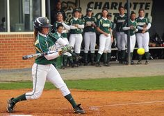 Charlotte 49ers Softball vs. UNC Chapel Hill by UNC Charlotte - Stake Your Claim, via Flickr