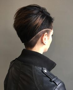 shaved hairstyles for women 23