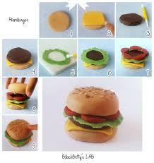 Bildergebnis für mini hamburger aus fondant