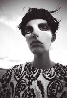 Lisa Verberght by Sofia Sanchez & Mauro Mongiello for Bergdorf Goodman Fall Winter 2013-2014