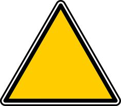 Free Image on Pixabay - Triangle, Signs, Symbols, Geometric Construction Party Decorations, Construction Birthday Parties, Construction Signs, Free Clipart Images, Vector Free, Triangle Sign, Sign Fonts, Mellow Yellow, Online Art