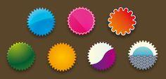 7 badges vectoriales para descargar