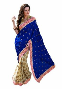 Fabdeal Indian Designer Viscose Blue Embroidered Saree Fabdeal, http://www.amazon.de/dp/B00INWL2S6/ref=cm_sw_r_pi_dp_vE8otb1QDSYNK