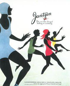 ad for Jantzen, 1929