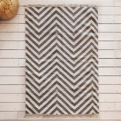 Zyana Chevron Grey Rug - Rugs & Animal Skins - Home Accessories - New Collection