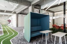 http://www.fastcodesign.com/3038625/this-office-has-a-running-track