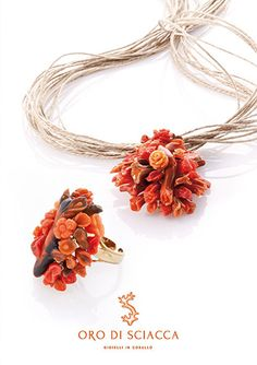 Oro di Sciacca - Gioielli in corallo dalla lavorazione dei maestri orafi siciliani - Malucchifari